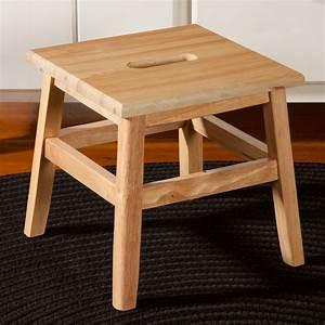 "12"" Wooden Footstool with Handle Sturbridge Yankee Workshop"