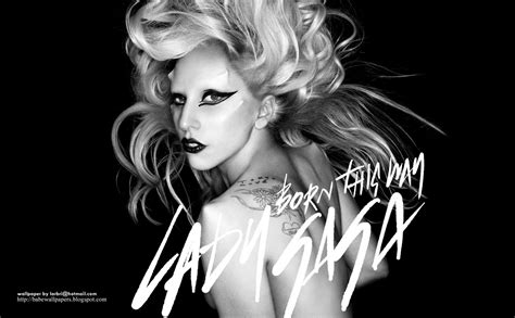 Lady Gaga Born This Way Widescreen