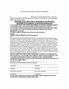 Release Of School Records Form Template Motorcycle Liability Release Form With Images Criminal