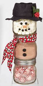 Christmas Gift in a Jar Ideas for everyone on your list