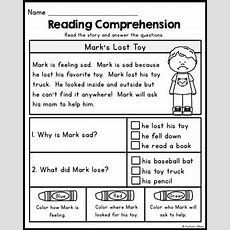 Free Reading Comprehension Passages  Summer Review By