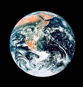 Whole earth from Apollo 17 - Stock Image E050/0247 ...