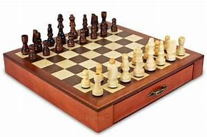 Jeu D échec Design : jeu d 39 checs en bois naturel teint 30cm ~ Preciouscoupons.com Idées de Décoration