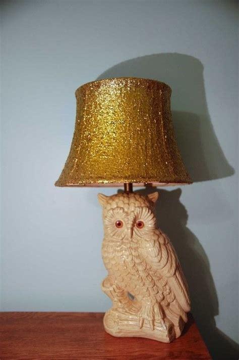 diy glitter lamp shade     lamp lampshade