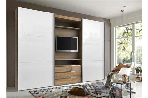 armoire de chambre armoire dressing avec emplacement tv pour chambre adulte