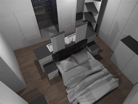 salle de bain dressing chambre faire d 39 une chambre de taille moyenne une suite avec wc