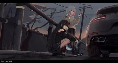 wallpaper id  anime girls anime azur lane
