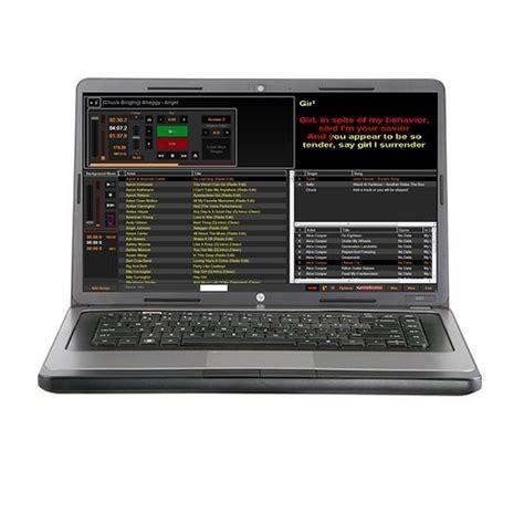 karaoke software karaoke dj laptop 1 tb digital karaoke