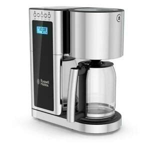 Cuisinart launches its new t series linecuisinart. Drip Coffee Maker Russell Hobbs Glass Series 8 Cup Black Stainless Steel NIB 27043996411   eBay
