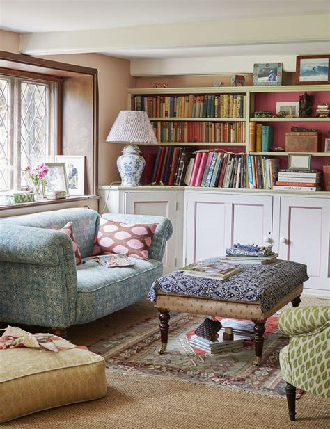 This Dreamy Sussex Cottage Experiments With Bold Patterns