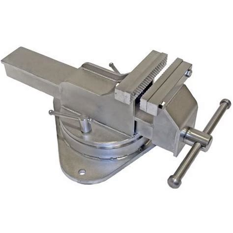 Yost 4 Inch Stainless Steel Bench Vise Swivel Base