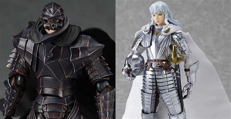 roger moore griffiths and armour figma berserk guts in berserker armor repaint skull