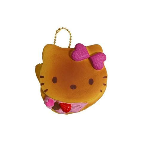 Hello Kitty Pancake Squishy   Kawaii Panda   Making Life Cuter