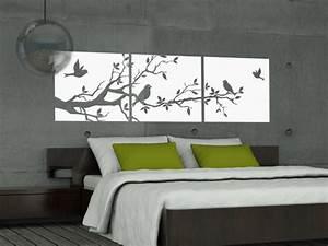 Wohnideen Für Schlafzimmer : wohnideen f r schlafzimmer mit wandtattoo einfach on ~ Sanjose-hotels-ca.com Haus und Dekorationen