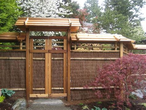 japanese garden trellis japanese trellis fences japanese garden north seattle this would be another alternative for