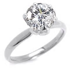2 carat engagement rings two golden rings 2 carat ring