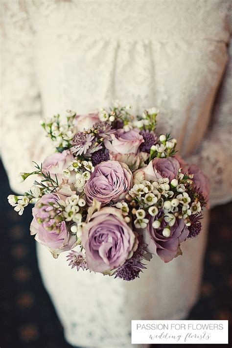 mocha dusky pink wedding flowers passion  flowers