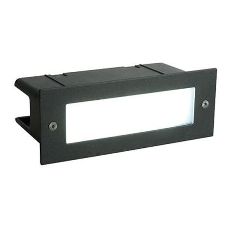 saxby lighting seina plain brick light recessed led brick
