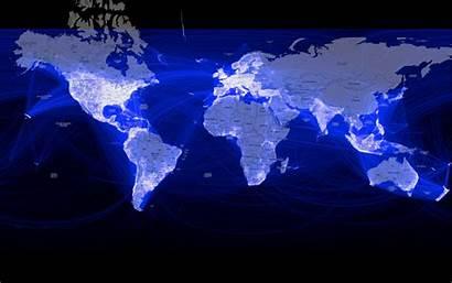 Third Population Internet Global Dark Marketing Map