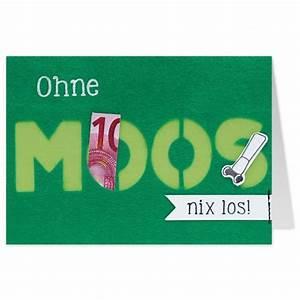Ohne Moos Nix Los Spiel : gruss und co filzkarte geburtstag geldgeschenk ohne moos nix los grusskarten originelle ~ Orissabook.com Haus und Dekorationen