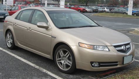07 Acura Tl by File 07 08 Acura Tl Jpg Wikimedia Commons