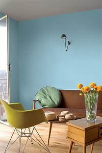 les 25 meilleures idees de la categorie nuancier tollens With charming peindre un mur de couleur dans un salon 0 5 idees pour peindre un mur en couleur blog home