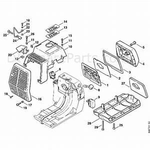 Stihl Fs 550 Clearing Saw  Fs550  Parts Diagram  F