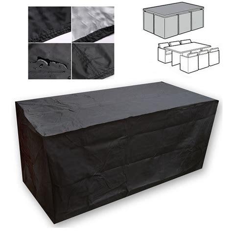 black waterproof patio furniture cover for outdoor garden