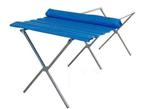 table de marche pliante table march lit de c forain clayette 200 x 100 cm
