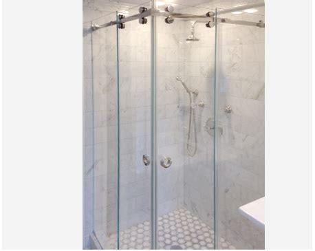cr laurence shower door hardware crl deluxe serenity series sliding shower door system