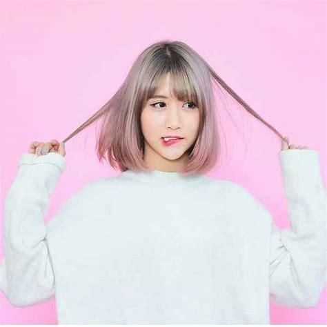 model rambut terbaru ala korea  buat  tampil lebih