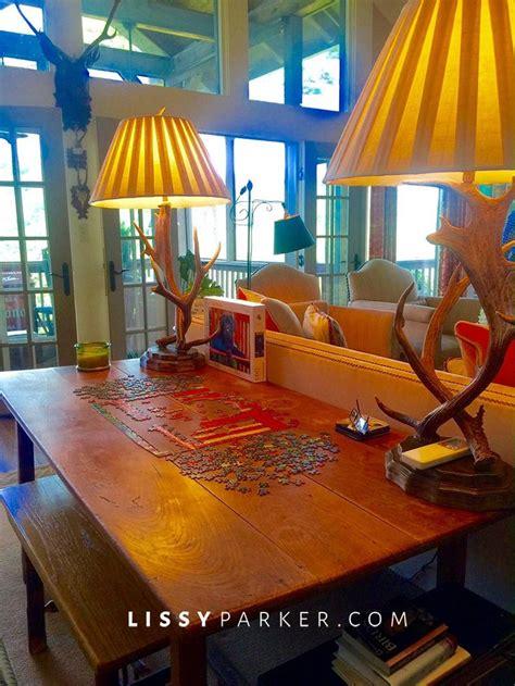 puzzle table ideas  pinterest