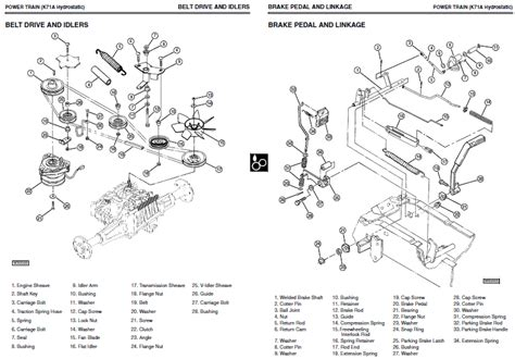 Gx345 Wiring Diagram by Deere Repair Manual Gx325 Gx335 Gx345 Ebay