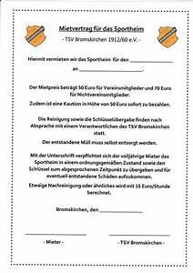 Mietvertrag Vorlage 2015 : tsv bromskirchen bildergalerie ~ Eleganceandgraceweddings.com Haus und Dekorationen