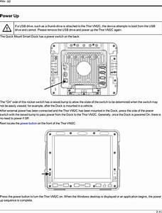 Honeywell Vm2c01 Vehicle Mount Terminal User Manual Thor