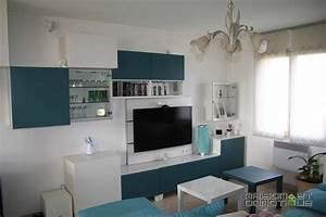 Meubles Besta Ikea : meubles modulables salon fabulous craquez pour des meubles modulables en dans votre petit ~ Nature-et-papiers.com Idées de Décoration