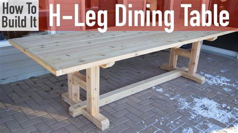 How To Build A Hleg Dining Table  Youtube. Decorating Ideas For A Living Room. Living Room Tables On Sale. Decoration Pieces For Living Room. Living Room Columns. Corner Living Room Unit. Pottery Barn Living Room Furniture. Cheap End Tables For Living Room. Deep Red Living Room