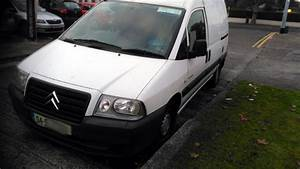 Citroen Dispatch For Parts Or Possible Repair For Sale In