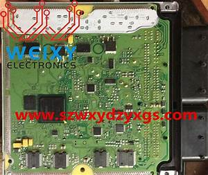 Bmw Dme Repair  de soldering e46 m3 dme memory chips with