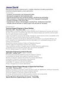 resume of a plc programmer plc application engineer resume