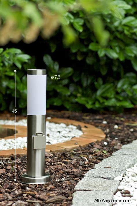 le exterieur avec prise de courant ladaire ext 233 rieur borne d 233 clairage avec prise le de jardin en acier 30460 ebay
