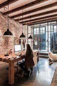 la tendance poutres apparentes 41 bons exemples With peindre des poutres en bois 11 mezzanine idees pour utiliser la hauteur sous plafond