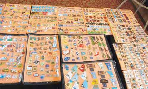 Largest Collection Of Label Pins Arvind Sinha Sets World