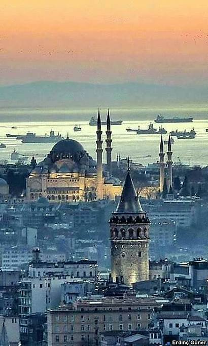 Istanbul Turkey Travel Places Cities Most Mosque
