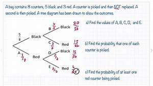 Tree Diagram Probability Worksheet