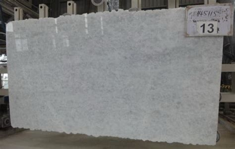 Opal White Quartzite Slabs (great for the kitchen
