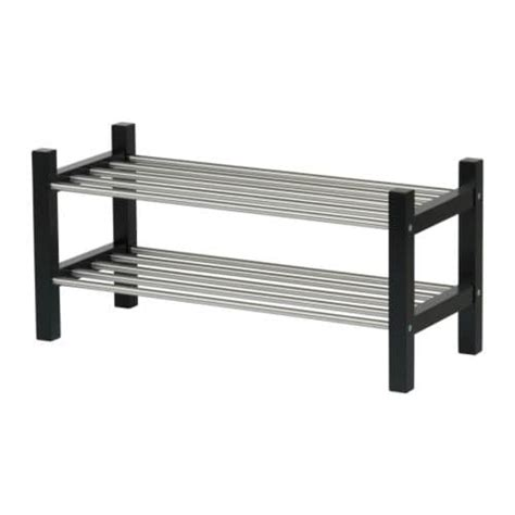 ikea shoe rack tjusig shoe rack black ikea