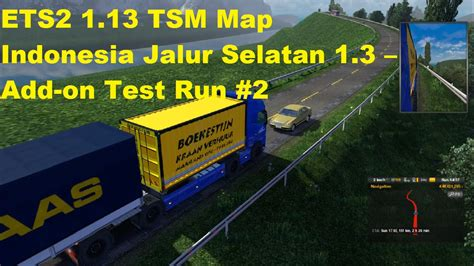 ets  tsm tsm map indonesia jalur selatan  add
