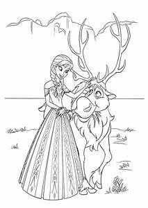 Ausmalbilder Elsa Kostenlos Malvorlagen Zum Ausdrucken