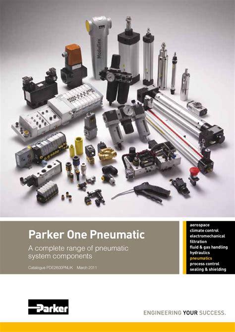 Parker Hannifin Pneumatic Catalogue by Asesoría Mangueras ...